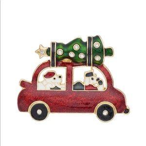 🎄 Pet Friend Christmas Tree Car Pin 🎄